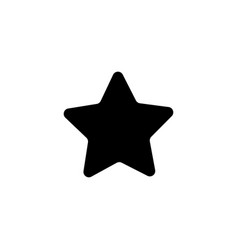 star icon award rating symbol vector image