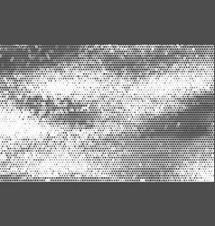 vintage halftone background vector image