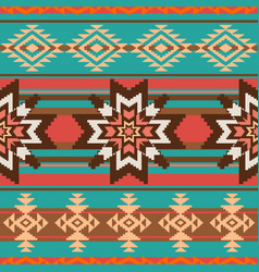 ethnic ornament seamless pattern vector image