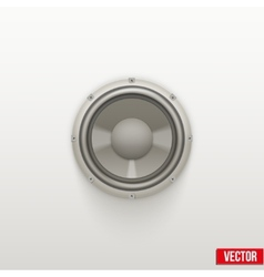 Icon Light Load Speaker Symbol of sound vector image