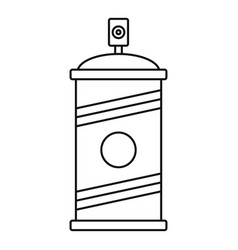 painting spray icon outline style vector image