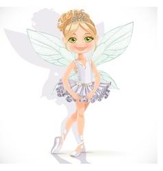 Beautiful little fairy girl vector image vector image