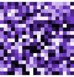 Abstract violet pixel background vector image vector image