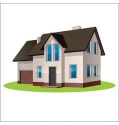 home freehand drawing icon vector image vector image