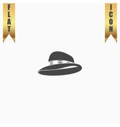 Cowboy traditional hat icon vector