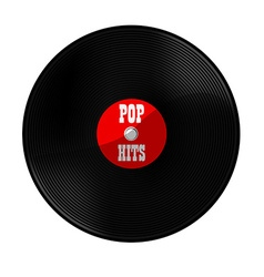 Pop hits vector image vector image