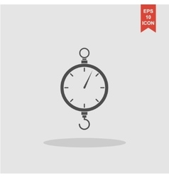 scales icon Flat design style vector image