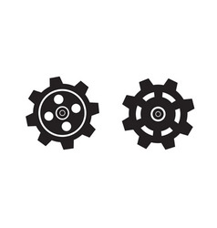 Set of gears vector image