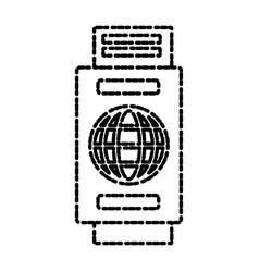 travel passport isolated vector image