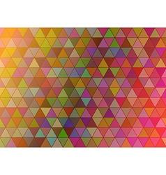 Triangular background vector