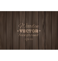 Wooden background Wood texture vector image