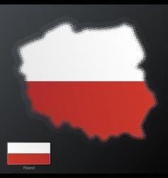 Poland map vector image vector image