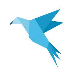 bird abstraction6 vector image vector image