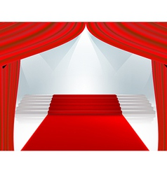 curtain789 vector image vector image
