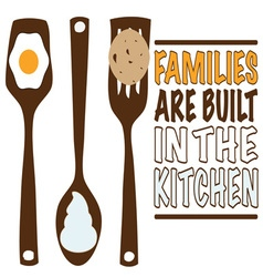 Families Are Built vector