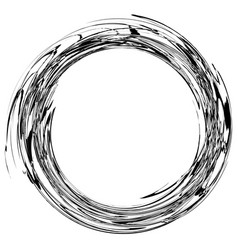 Spiral twirl abstract element with radial style vector