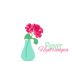 vase of flowers vector image