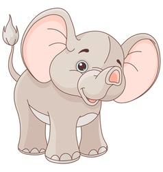 Baby Elephant vector image vector image