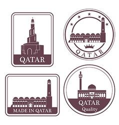 Qatar vector image vector image
