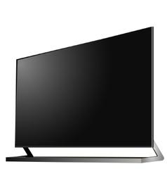 TV modern flat screen lcd led vector image