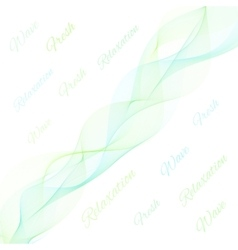 Abstract light color wave vector image