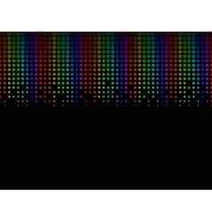 Colored halftone background vector image