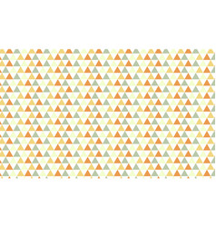simple triangles patternabstract background vector image