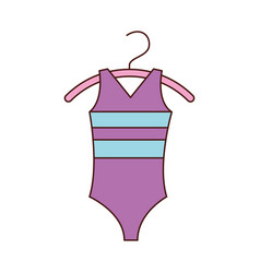 Ballet leotard for ballet class icon in cartoon vector