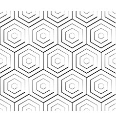 cellular geometric pattern seamlessly repeatable vector image