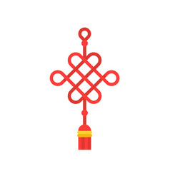 Chinese knot vector