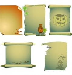 Halloween invites vector image