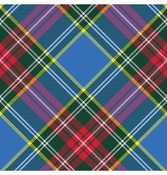 macbeth tartan kilt fabric textile diagonal vector image