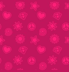 Minimalistic pattern seamless background vector