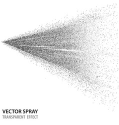 Tansparent water spray cosmetic white fog spray vector