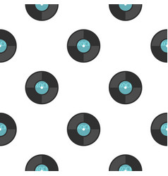 vinyl pattern seamless vector image
