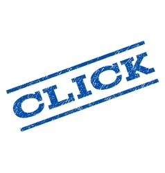 Click watermark stamp vector