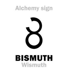 Alchemy bismuth wismuth vector