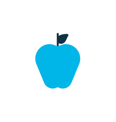 apple icon colored symbol premium quality vector image