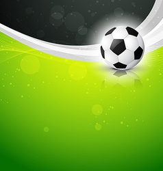 Beautiful background of football vector