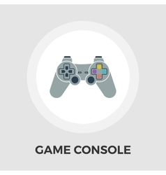Game flat icon vector