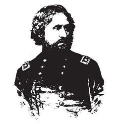 general john c fremont vintage vector image