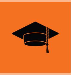 graduation cap icon vector image