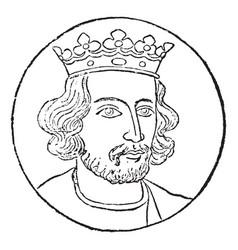 Henry iii vintage vector