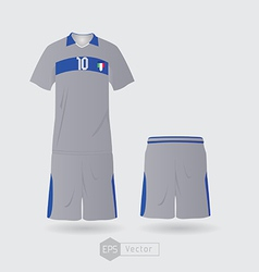 Italy team uniform 02 vector image