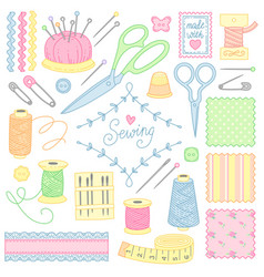 Tools for sewing vector