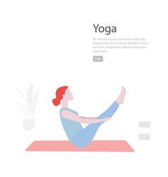 Yoga flat minimal character vector