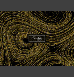 luxury festive background with shiny golden vector image