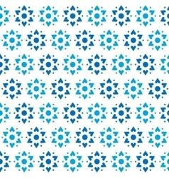 Star of David Seamless Pattern vector image