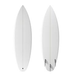 Blank surfboard vector image
