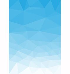 Blue sky portrait vector image